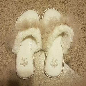 New Pretty You Fancy Slippers Thong L
